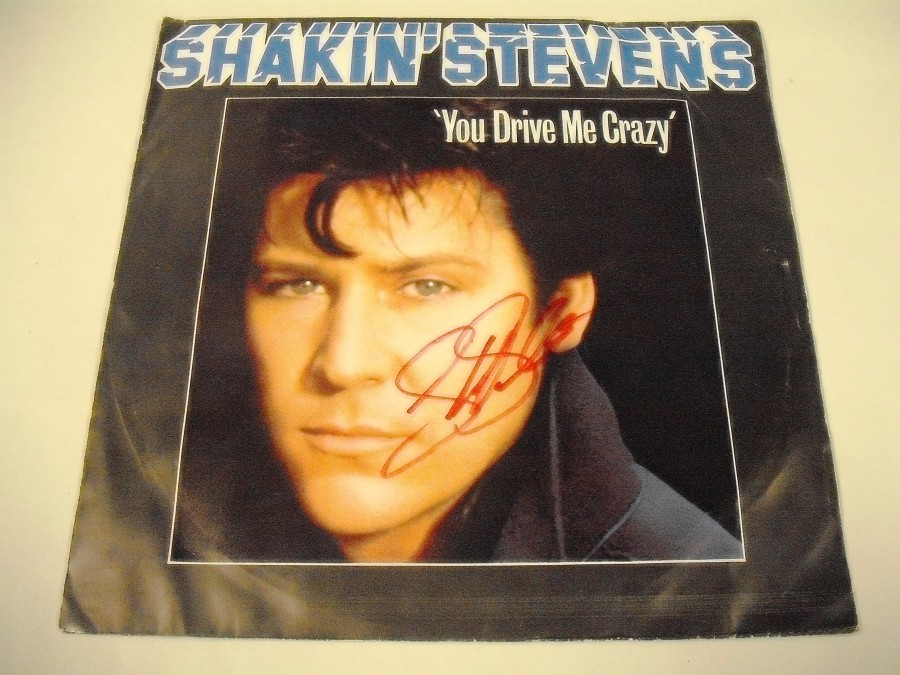 Shakin Stevens You Drive Me Crazy Baby You Re A Child