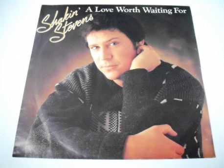 Shakin' STEVENS - A Love Worth Waiting For / As Long As (Live)