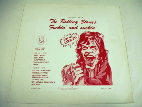 THE ROLLING STONES - Fuckin' And Suckin'