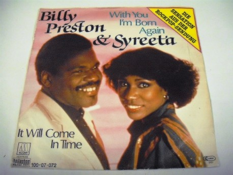 Billy PRESTON & SYREETA - With You I'm Bornagain / It Will Come In Time
